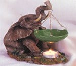 oil burner elephant