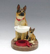oil burner german shepard dogs