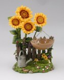 oil burner sunflowers
