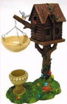 oil burner tree house