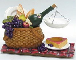 oil burner wine basket