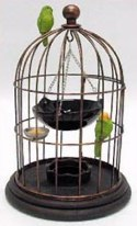 oil burner bird cage