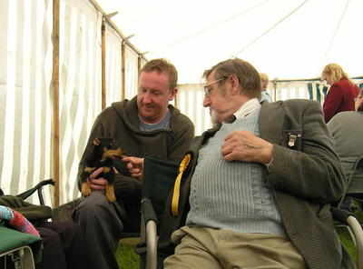 Norman, Jimmy & Stanley at Gt Harwood Show