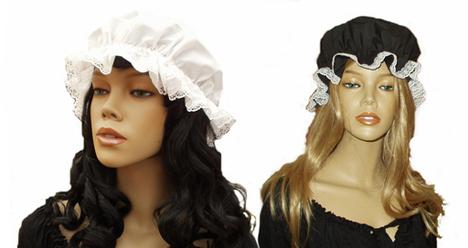 Ladies Victorian Aprons & Mop Caps
