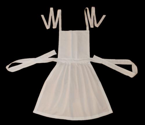 apron with bib