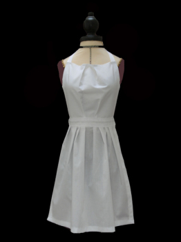 Childs White Full Length Victorian Apron