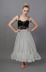 Cotton Petticoat With Lace Trim