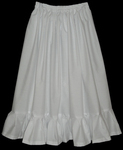 Childrens Plain Cotton Petticoat