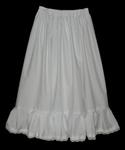 Childrens Cotton Petticoat With Lace Trim