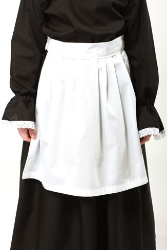 Victorian White Apron