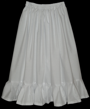 Victorian White Petticoat