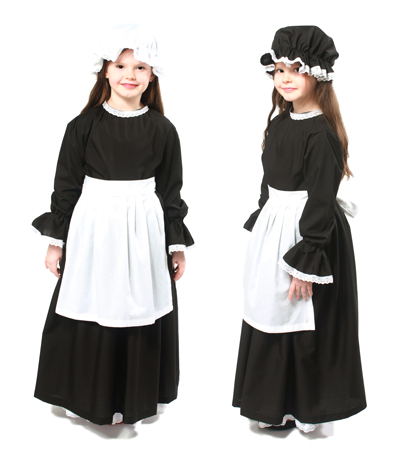 Full Victorian Girls Costume