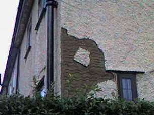 pebble-dash repairs