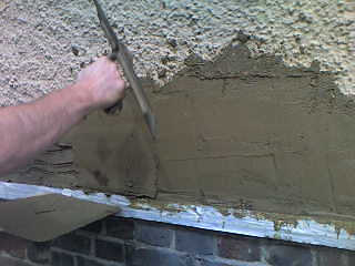 exterior wall coatings tyrolean render pebble dash. Black Bedroom Furniture Sets. Home Design Ideas