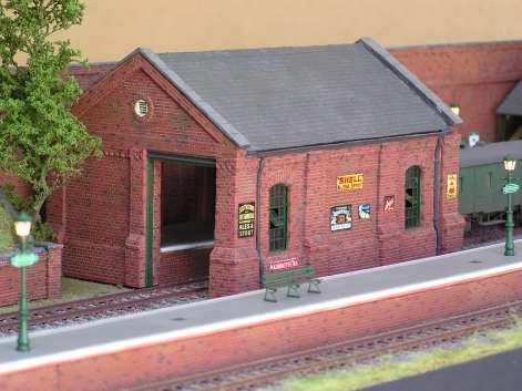 Langton - goods shed