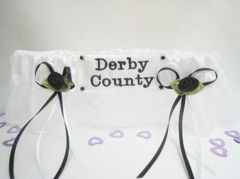 No.9 Derby County Organza Football garter