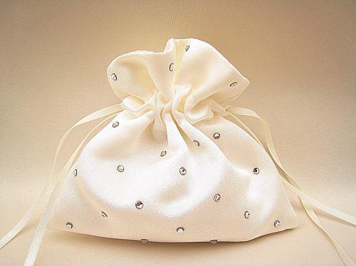 No.0 Wedding Ring Bag, Diamante Ring Bags Weddings