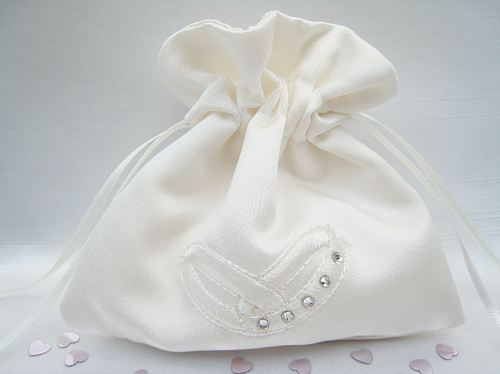 No.7 Wedding Ring Bag, All White Or Ivory