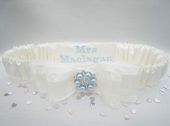 'Nadine' Swarovski Wedding Garter