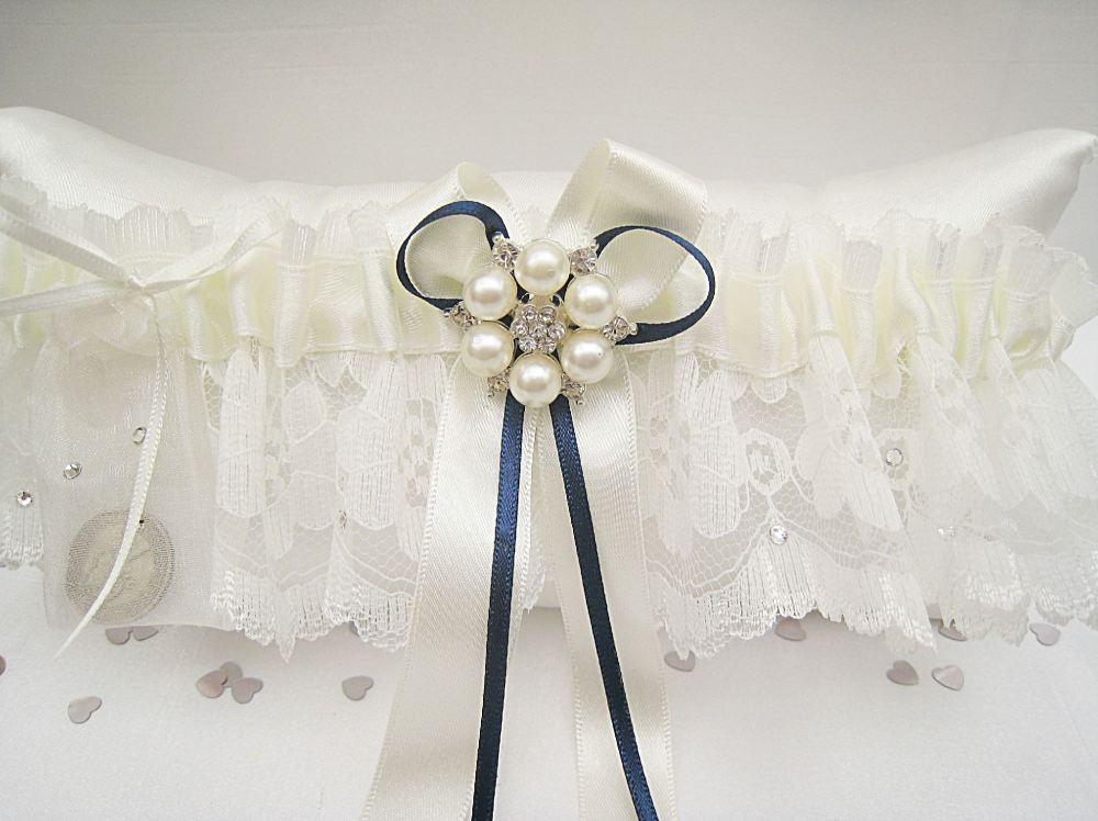 Swarovski Wedding Garter UK