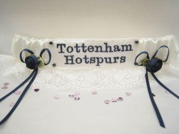 TOTTENHAM HOTSPURS Lace Wedding Football Garter