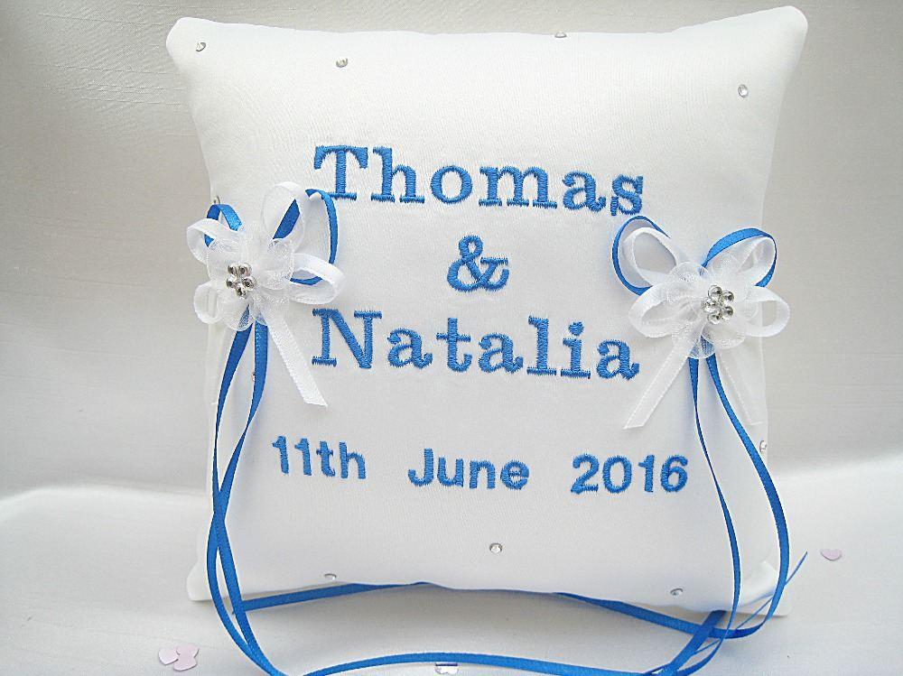 No12 Mini Wedding Ring Cushion £34.99