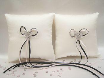 Mini Wedding Ring Cushions, Custom Made Ring Pillows