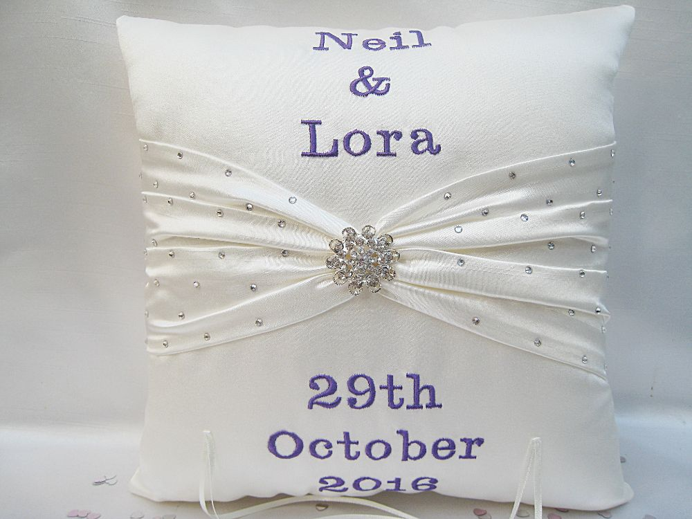 No.9 Danielle Lloyd Wedding Cushion £41.99