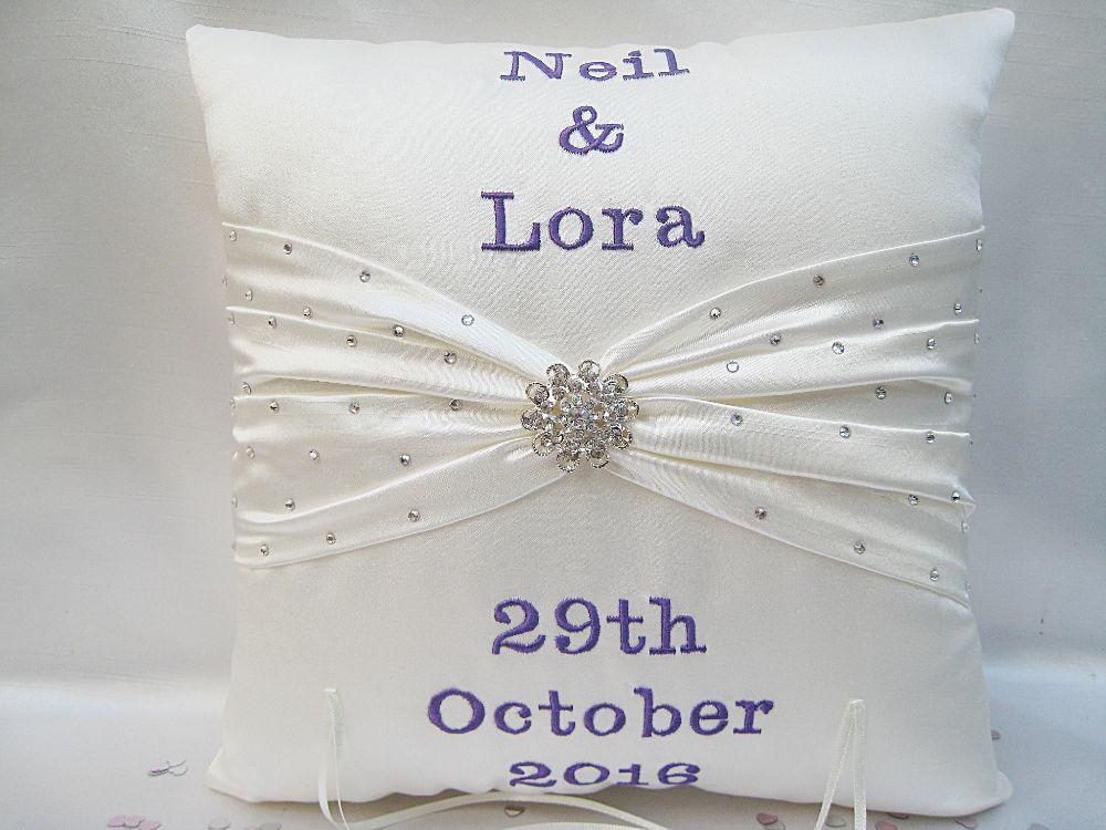 No.9 Danielle Lloyd Wedding Cushion £46.99