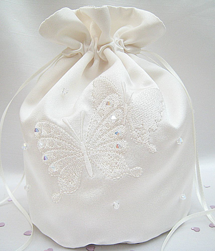 No.2 Butterfly Wedding Dolly Bag From £31.99