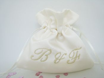 No10 Initials Wedding Ring Bag
