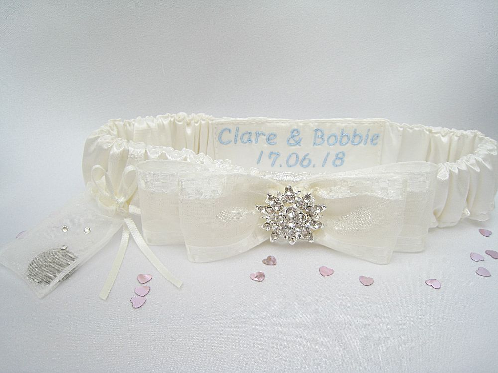 BLISS No.1 Vintage Style Wedding Garter £26.99