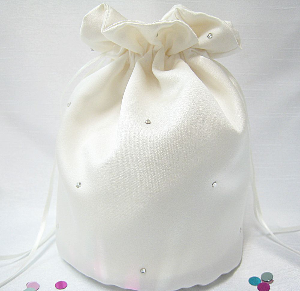 No.9 Rhinestone Bridal Wedding  Dolly Bag £22.99