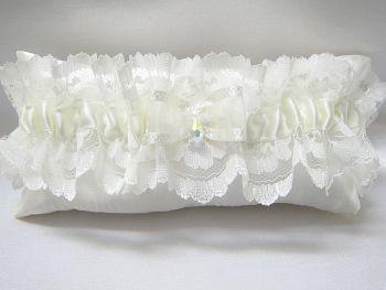 Valerie' Luxury Lace Wedding Garter
