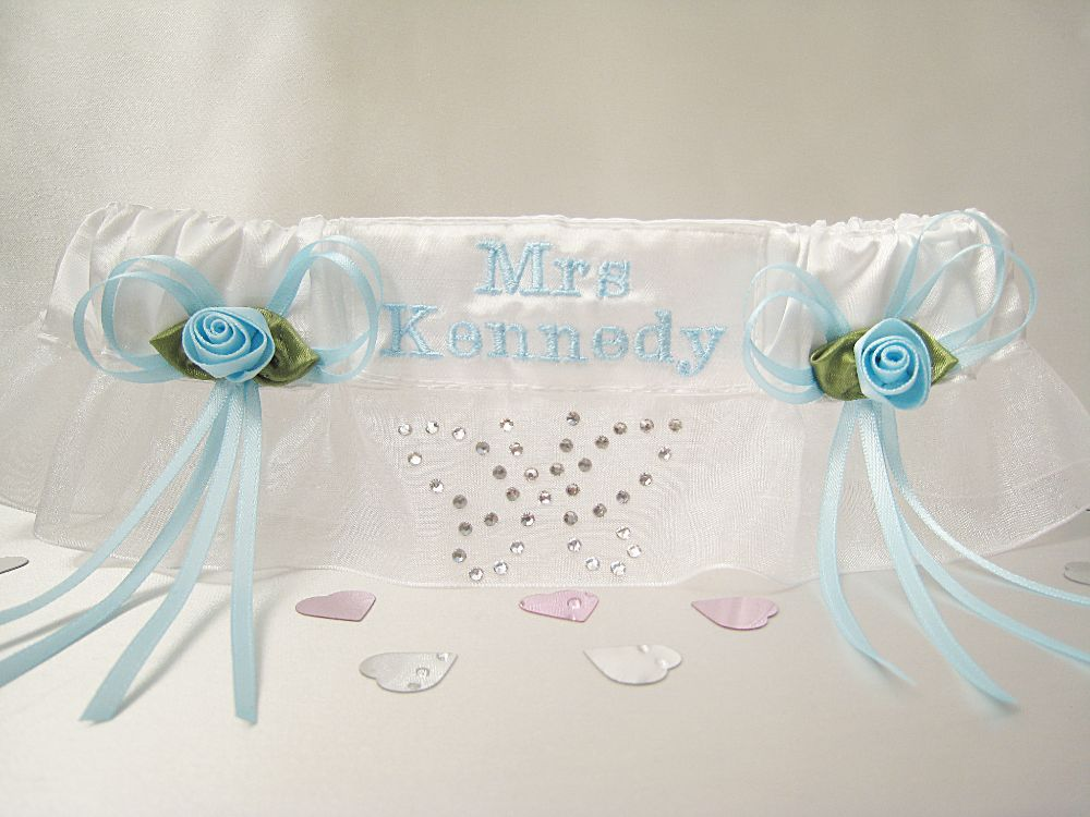 BEA Butterfly Wedding Garter Swarovski £26.99