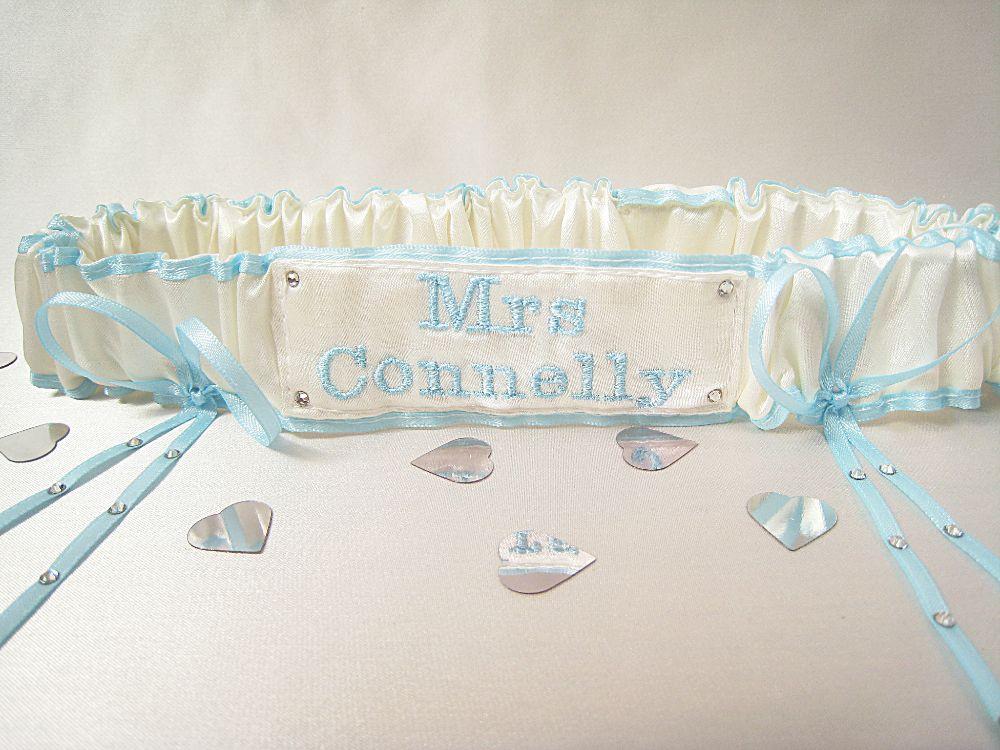 FIFI Extra Bling Swarovski Wedding Garter £24.99