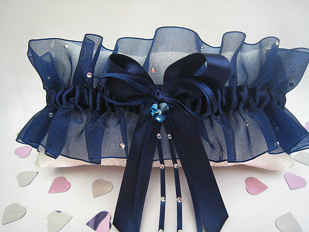 Adi Luxury Navy Blue Garter £39.99