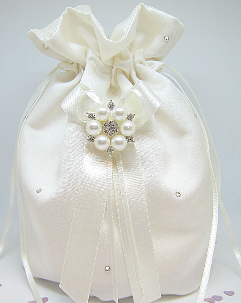 No.2 Diamante & Pearl Dolly Bag £26.99
