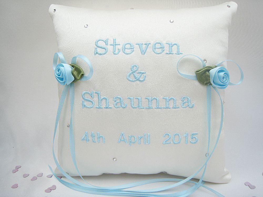 No14  SMALLER Wedding Ring Cushions £29.99