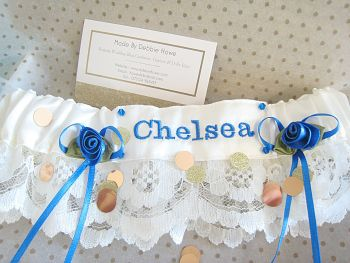 ANY Football Or Rugby Team Wedding Garter