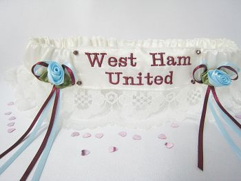 WEST HAM UNITED Lace Football Garter