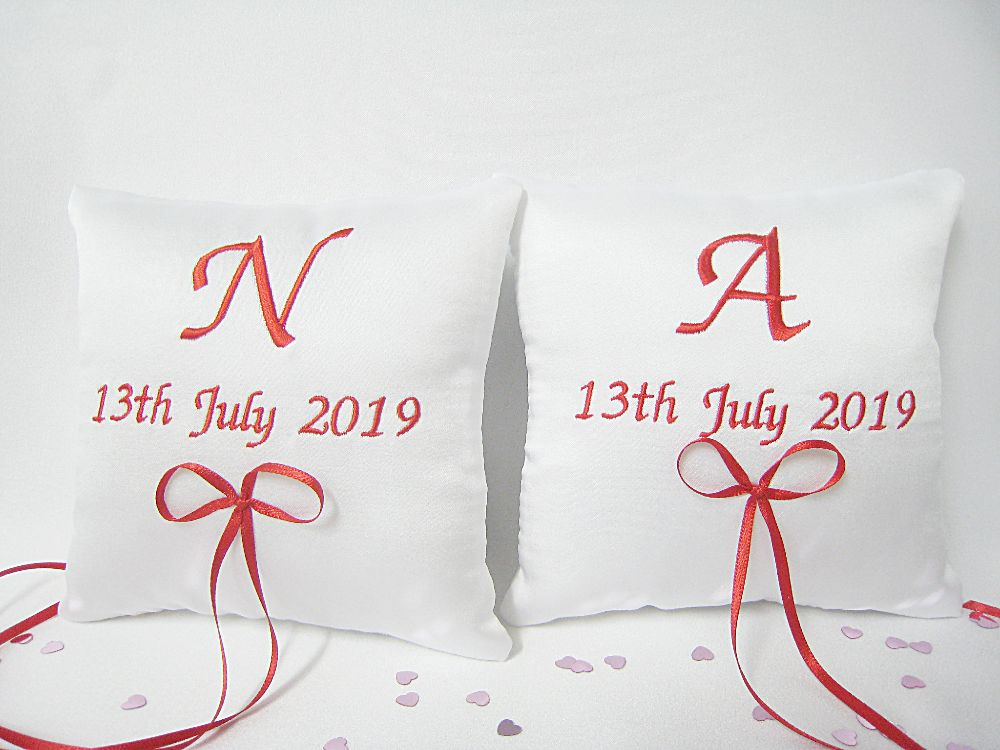 No.8 Mini Wedding Ring Cushions From £24.99