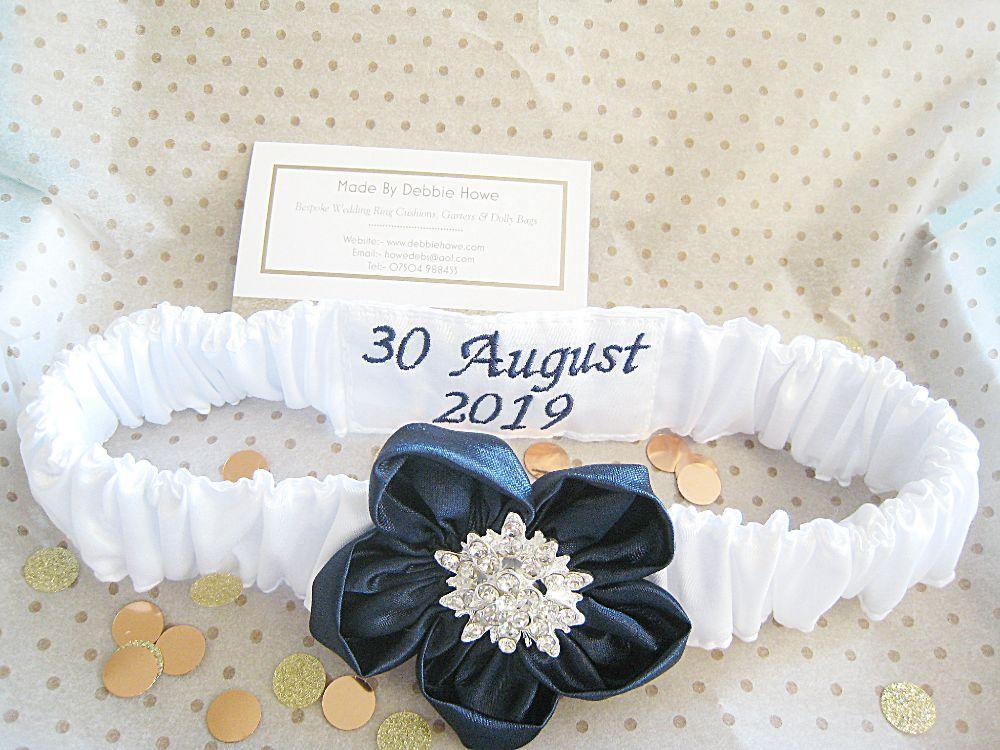 ' Betsy' Luxury Wedding Garter £37.99