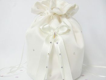 Swarovski AB Crystal Teardrop Dolly Bag Handmade Wedding Bags