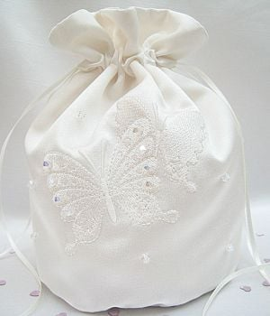 Butterfly Dolly Bag, Couture Bridal Dolly Bags