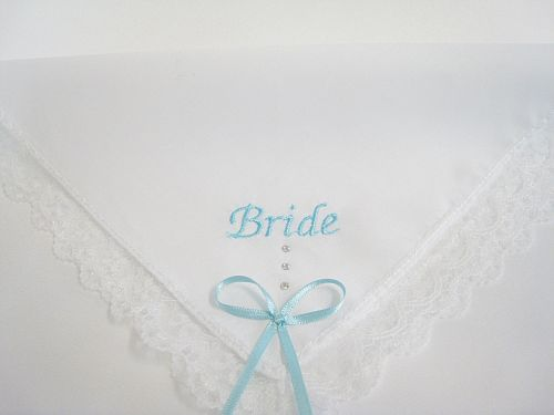 Wedding hankie 1