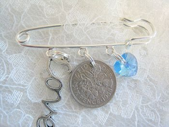 Sixpence Wedding Charm