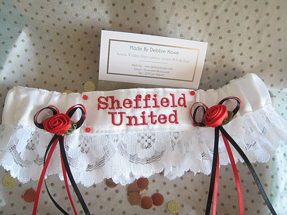 Football Wedding Garter For The Bride To Be
