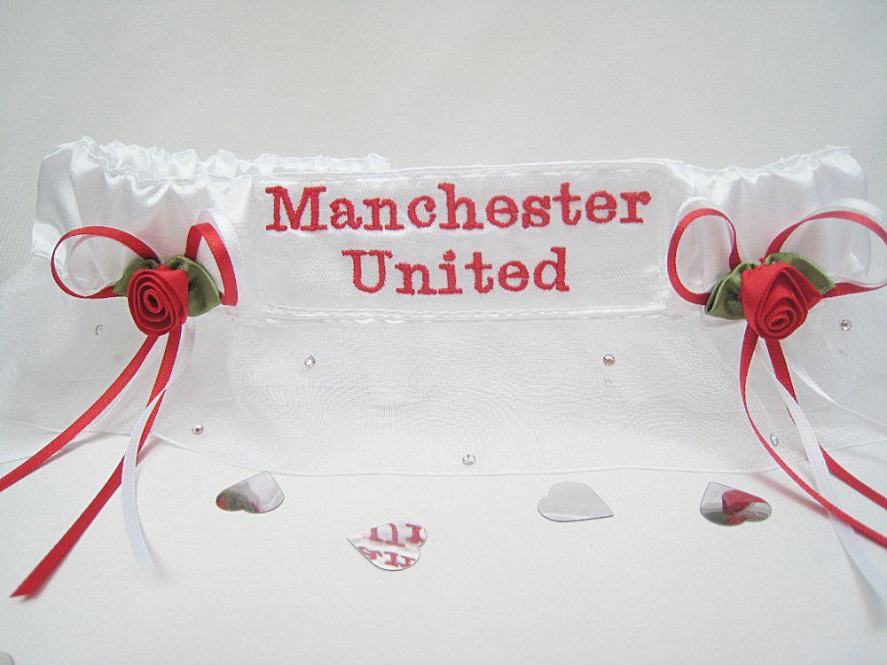 Extra Sparkle Football Garters ANY TEAM £27.99