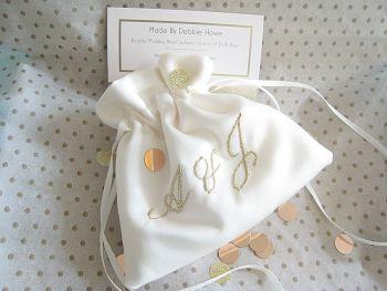 No10 Initials Wedding Ring Bag